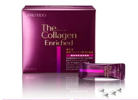 Collagen shiseido enriched dạng viên Nhật Bản hộp 240 viên