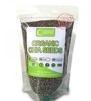 Hạt chia úc -chia seeds high in omega 3 absolute organic 1kg