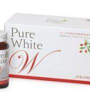 Nước uống làm trắng da shiseido pure white