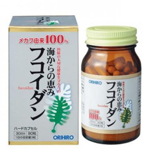 tảo chống ung thư fucoidan orihiro Nhật Bản
