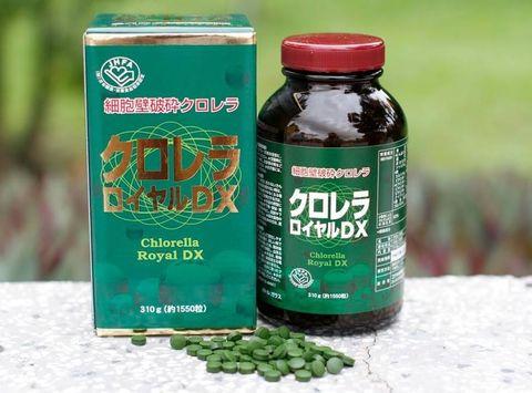 Công dụng của tảo lục chlorella royal dx Nhật Bản
