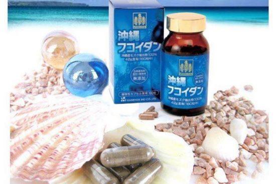 Sử dụng của Tảo nâu okinawa fucoidan kanehide bio