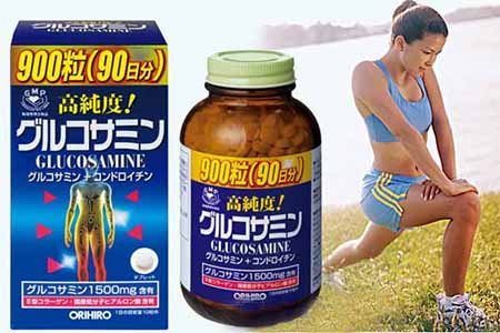 Kết quả hình ảnh cho bổ xương khớp glucosamine