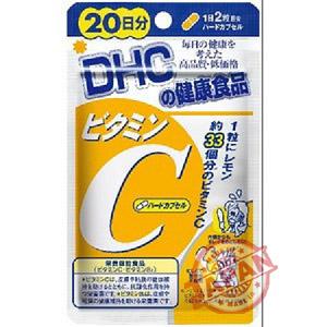 Viên uống DHC bổ sung vitamin C 20 ngày nhật bẩn