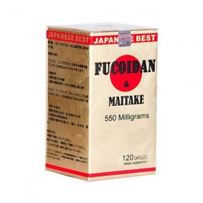 Fucoidan Maitake hộp 120 viên chính hãng của Nhật Bản