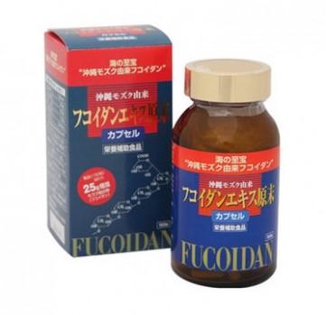 Okinawa Fucoidan Kanehide Bio hộp 150 viên màu đỏ của nhật bản