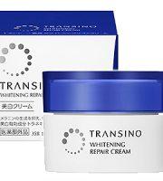 kem dưỡng trắng da tái tạo da transino whitening repair cream 35gr ban đêm