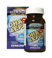 Viên uống bổ não DHA & EPA maruman 800mg của nhật