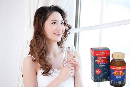 Uống Okinawa Fucoidan Kanehide Bio cho bạn một cơ thể tràn đầy sức sống