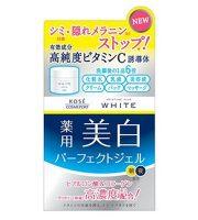 Kem dưỡng trắng da Kose Moisture Mild White Perfect Gel 6 trong 1