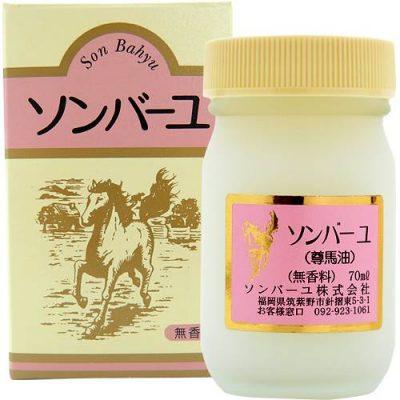 Kem dầu ngựa Sonbahyu Horse Oil Cream Nhật Bản
