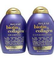 Bộ dầu gội xả mọc tóc Organix Thick & Full Biotin Collagen