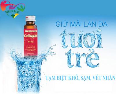 Công dụng Nước uống Collagen Health Plus 6000mg