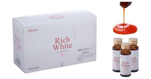 Nước uống làm trắng da Collagen Rich White Ihana