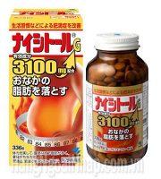 Viên uống giảm mỡ bụng 3100mg 336 viên Nhật Bản