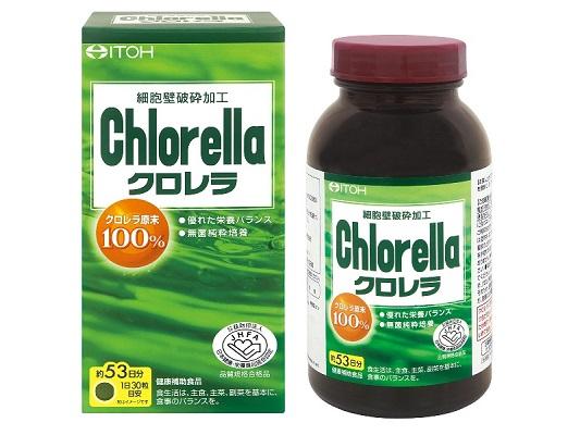 tảo lục tiểu cầu chlorella rất tốt cho sức khỏe