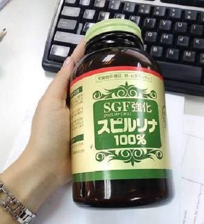 tảo spirulina sgf 1500 viên tốt cho sức khỏe