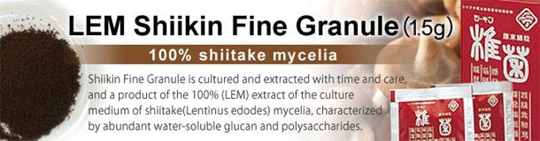 LEM chiết xuất từ hệ sợi nấm Shiitake